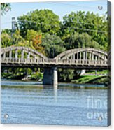 Rainbow Arch Bridge Acrylic Print