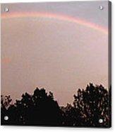 Rainbow Arch Display Acrylic Print