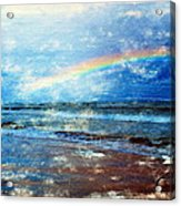 Rainbow At Skagen Acrylic Print