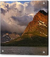 Rainbow At Sunrise - Panorama Acrylic Print