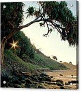 Rainbow Beach Acrylic Print