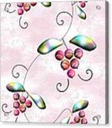 Rainbow Berries Acrylic Print