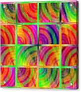 Rainbow Bliss 3 - Over The Rainbow H Acrylic Print