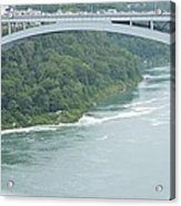 Rainbow Bridge Over Niagara Acrylic Print