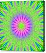 Rainbow Burst Acrylic Print