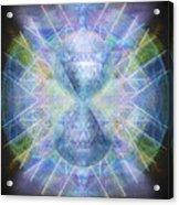 Rainbow Chalice Cell Isphere Matrix Acrylic Print