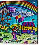 Rainbow Fair Acrylic Print