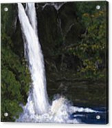 Rainbow Falls Hilo Hawaii Acrylic Print