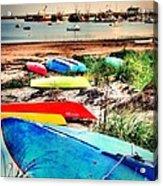 Rainbow Fleet Acrylic Print