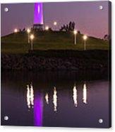 Rainbow Harbor Lighthouse Acrylic Print