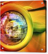 Rainbow Headlight Acrylic Print