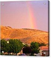 Rainbow In Toscana Acrylic Print