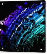 Rainbow Jaguar Acrylic Print