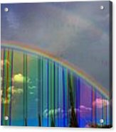 Rainbow Landscape Acrylic Print
