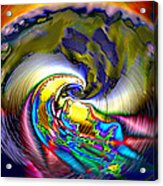 Rainbow Liberty V.5 Acrylic Print