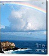 Rainbow Maui Hawaii Acrylic Print