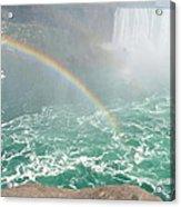 Rainbow Mist Acrylic Print