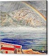 Rainbow Over Hermanus Acrylic Print