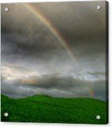 Rainbow Over The Mahoosucs Acrylic Print
