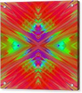 Rainbow Passion Abstract 1 Acrylic Print