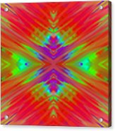 Rainbow Passion Abstract 2 Acrylic Print