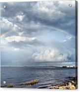 Rainbow Seascape Acrylic Print