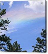 Rainbow Sky Acrylic Print