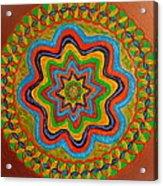 Rainbow Star Acrylic Print