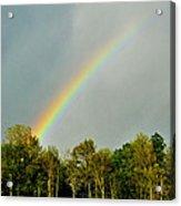 Rainbow To The Clouds Acrylic Print