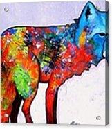 Rainbow Warrior - Fox Acrylic Print