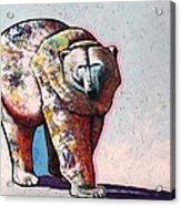 Rainbow Warrior-ice Bear Acrylic Print