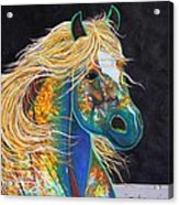 Rainbow Warrior - Mestengo Acrylic Print