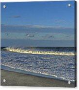 Rainbow Wave Seaside New Jersey Acrylic Print