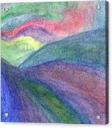 Rainbow Way Acrylic Print