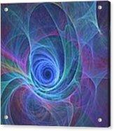 Rainbow Whirlpool Acrylic Print