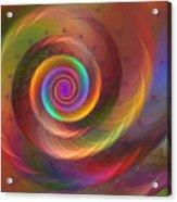 Rainbow Whispers Acrylic Print