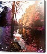 Rainbow Yaddo Acrylic Print