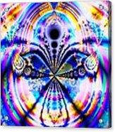 Rainbows And Dragonflies Acrylic Print
