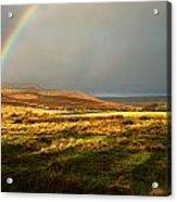 Rainbows End Acrylic Print