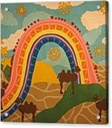 Rainbows Never End Acrylic Print