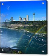 Rainbows Over Niagara Acrylic Print