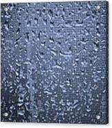 Raindrops On Window I Acrylic Print