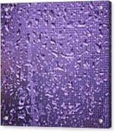 Raindrops On Window II Acrylic Print