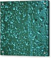 Raindrops On Window Iv Acrylic Print