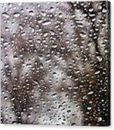 Raindrops Acrylic Print by Richie Stewart