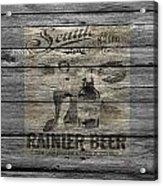 Rainier Beer Acrylic Print