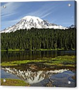 Rainier's Reflection Acrylic Print