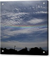 Rainless Rainbow Acrylic Print