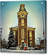 Raintree County Courthouse Acrylic Print