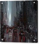 Rainy City. Part II Acrylic Print